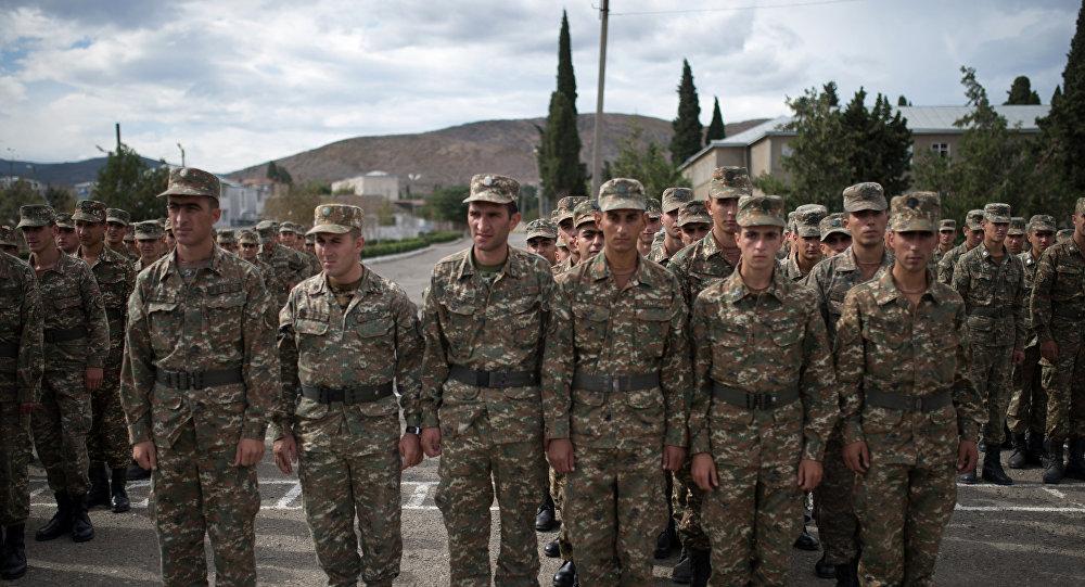 Soldati della repubblica autoproclamata del Nagorno-Karabakh (foto d'archivio)