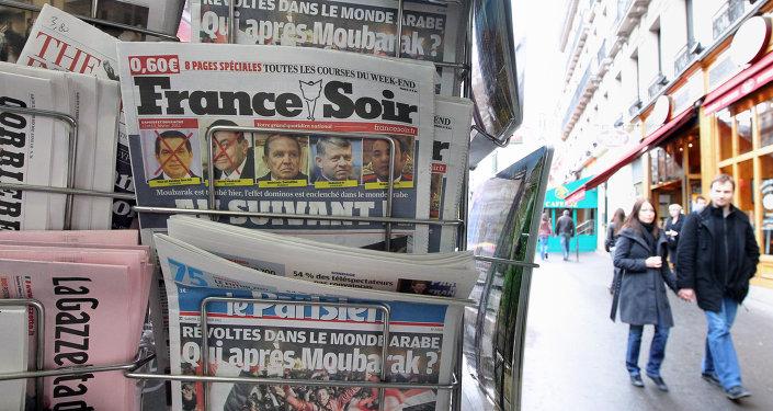 Un giornalaio a Parigi