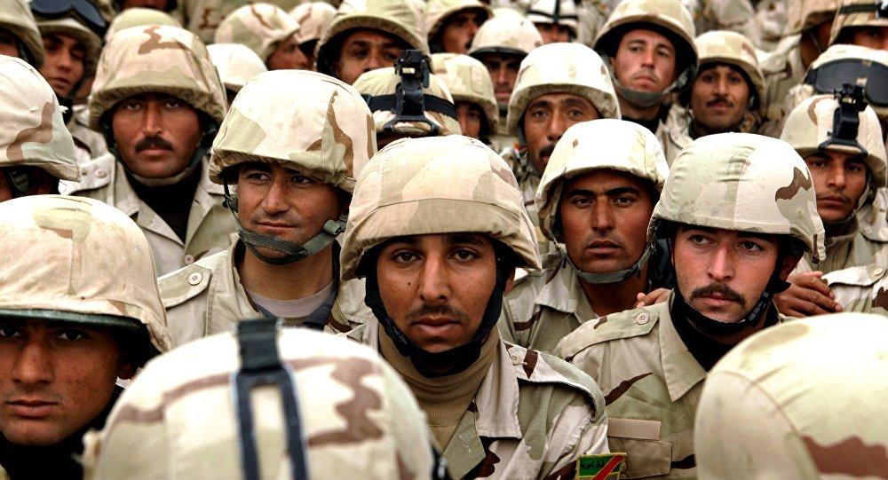 Soldati iracheni (foto d'archivio)