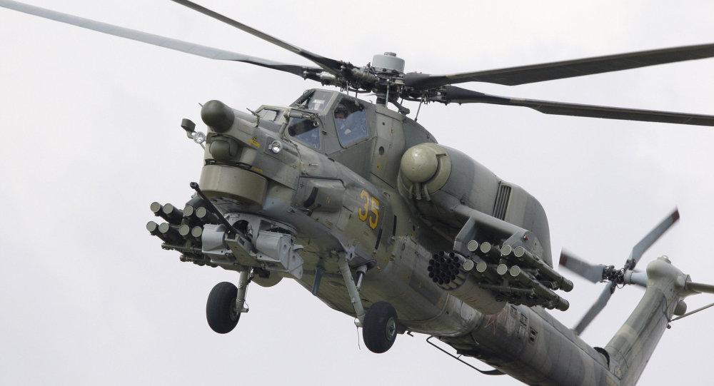 Elicottero Mi-28 (foto d'archivio)
