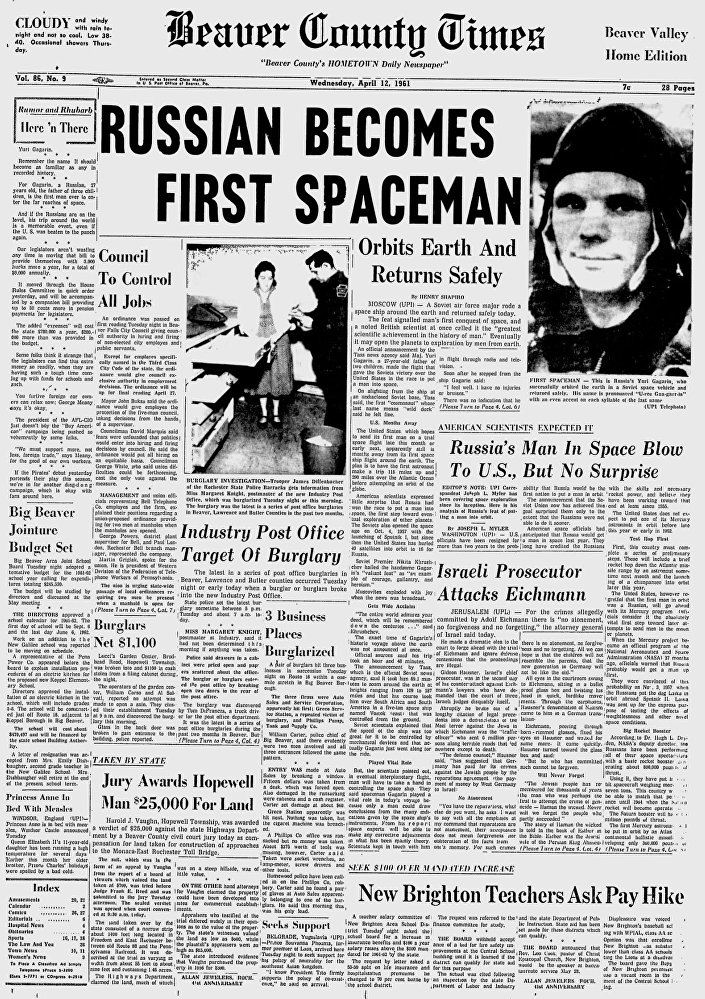 Giornale Beaver County Times, Stati Uniti