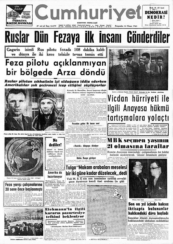 Giornale Cumhuriyet, Turchia