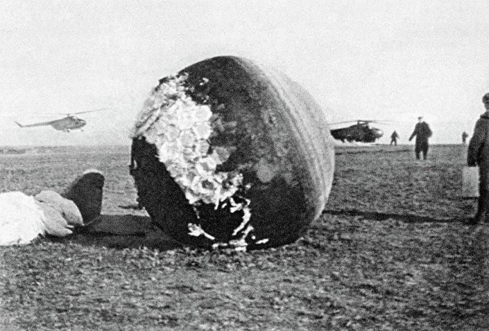 Atterraggio della navicella Vostok-1, 12 aprile 1961