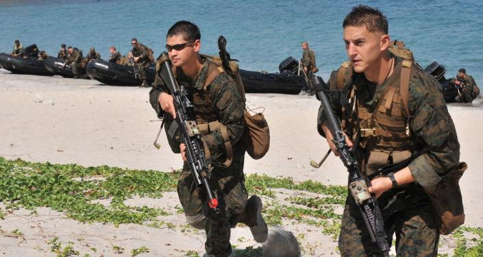 Soldati USA durante esercitazioni militari nelle Filippine (foto d'archivio)