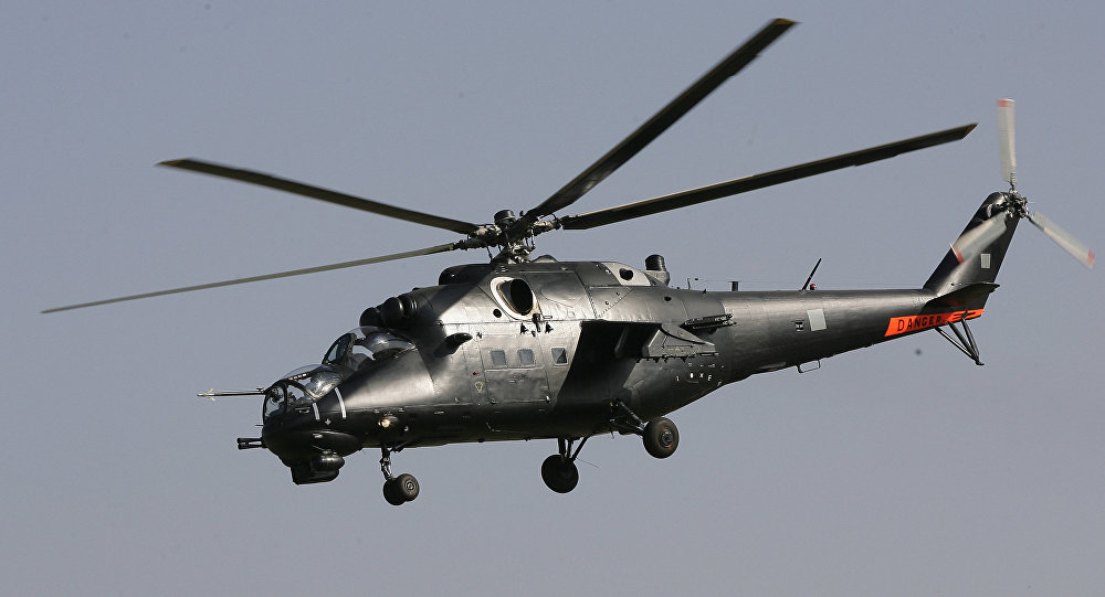 Elicottero Mi-35