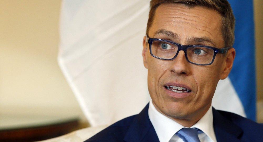 Primo ministro della Finlandia Alexander Stubb