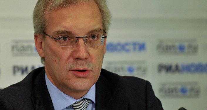 Rappresentante permanente della Russia presso la NATO Alexander Grushko