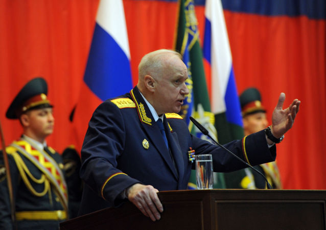 Alexander Bastrykin, il presidente del comitato investigativo della Russia