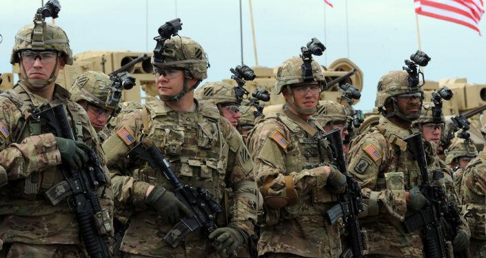 Le esercitazioni congiunte di militari americani e giorgiani Noble Partner 2015 nei pressi di Tbilisi