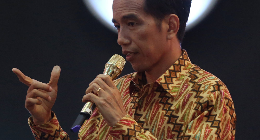 Presidente dell'Indonesia Joko Widodo