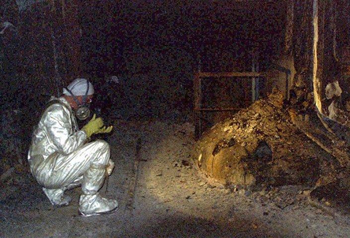 La zampa di elefante di Chernobyl