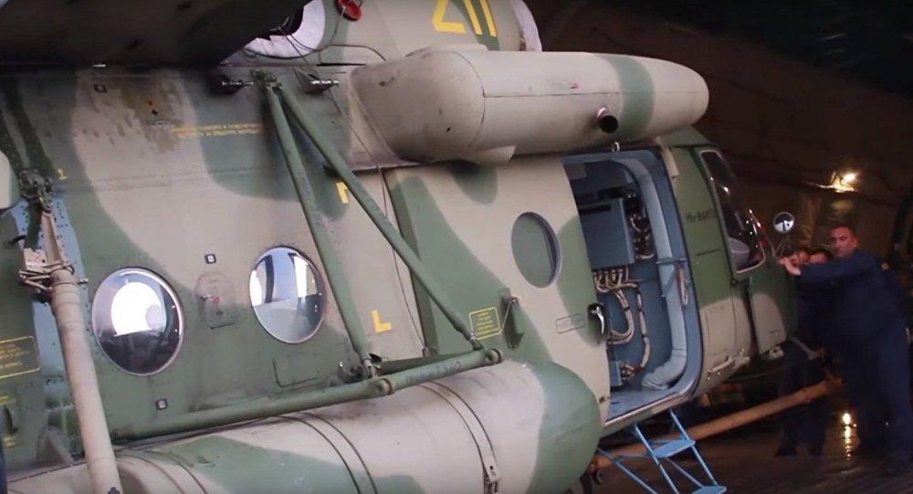 Elicotteri russi arrivano in Tagikistan