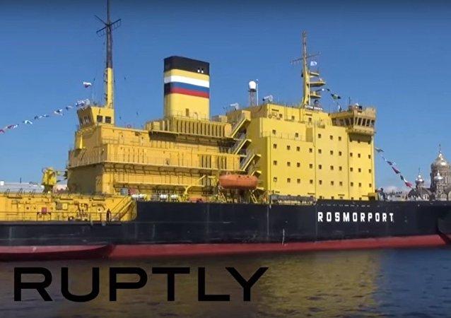 Festival dei rompighiaccio prende il via a San Pietroburgo