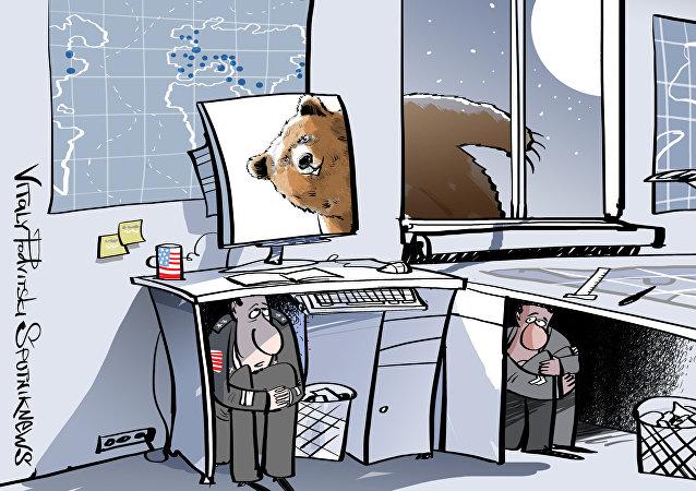 L'orso russo spaventa gli USA