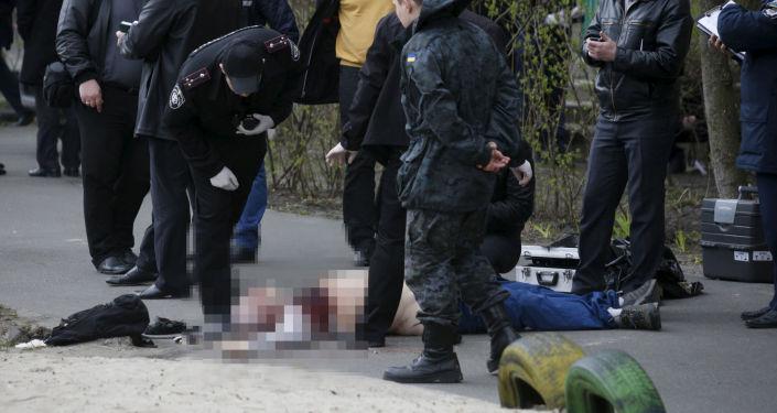 Omicidio del giornalista Oles Buzina a Kiev