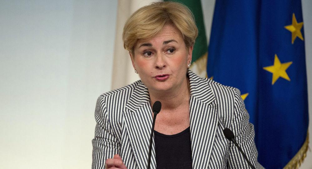 Il ministro dello Svilippo Economico, Federica Guidi