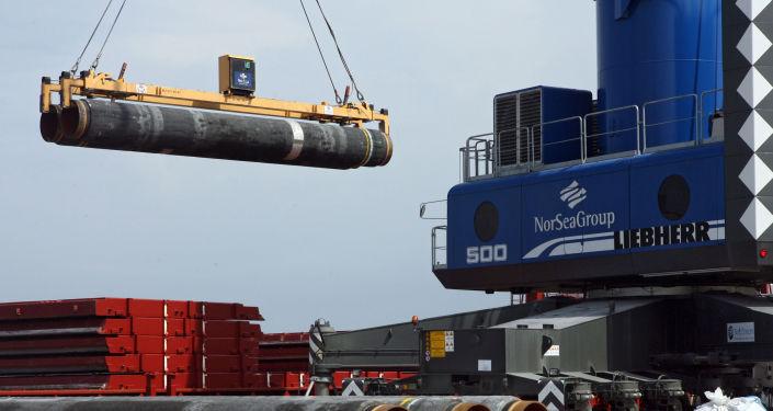 Costruzione gasdotto Nord Stream