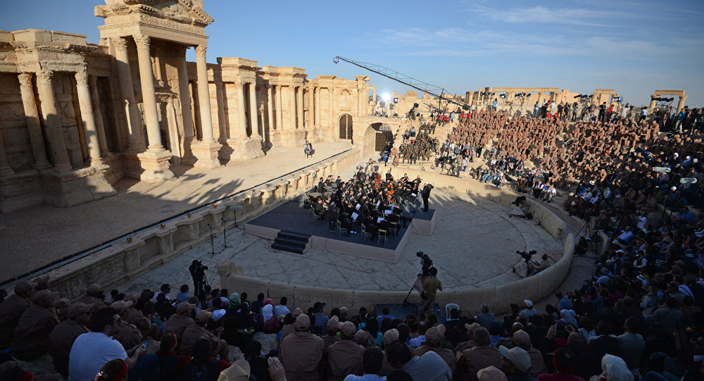Concerto di maggio a Palmira