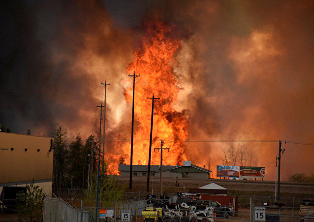 Rogo a Fort McMurray, Canada