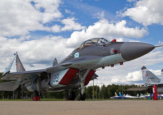 Mig-29K (foto d'archivio)