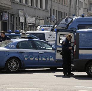 Polizia italiana (foto d'archivio)