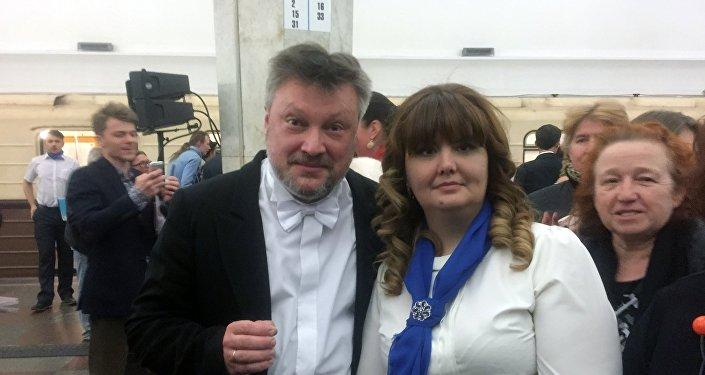 Boris Tarakanov e Svetlana Cinarova