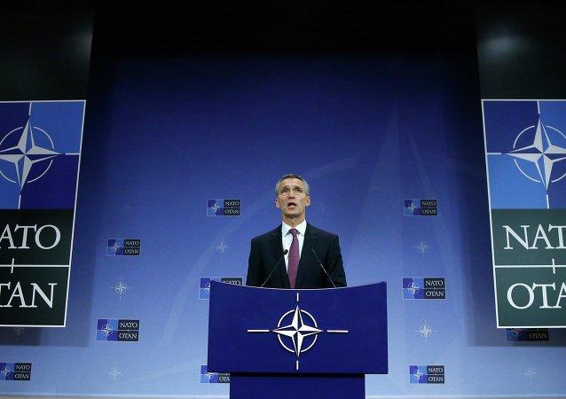 Il segretario generale della Nato, Jens Stoltenberg,