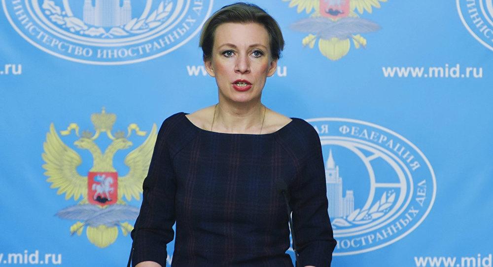 Portavoce del ministero degli Esteri russo Maria Zakharova