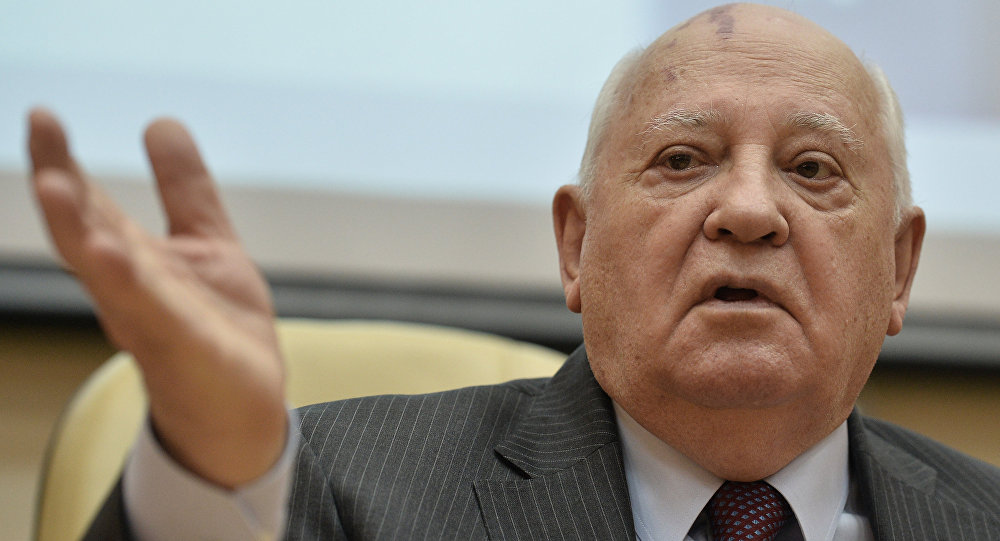 Mikhail Gorbaciov (foto d'archivio)