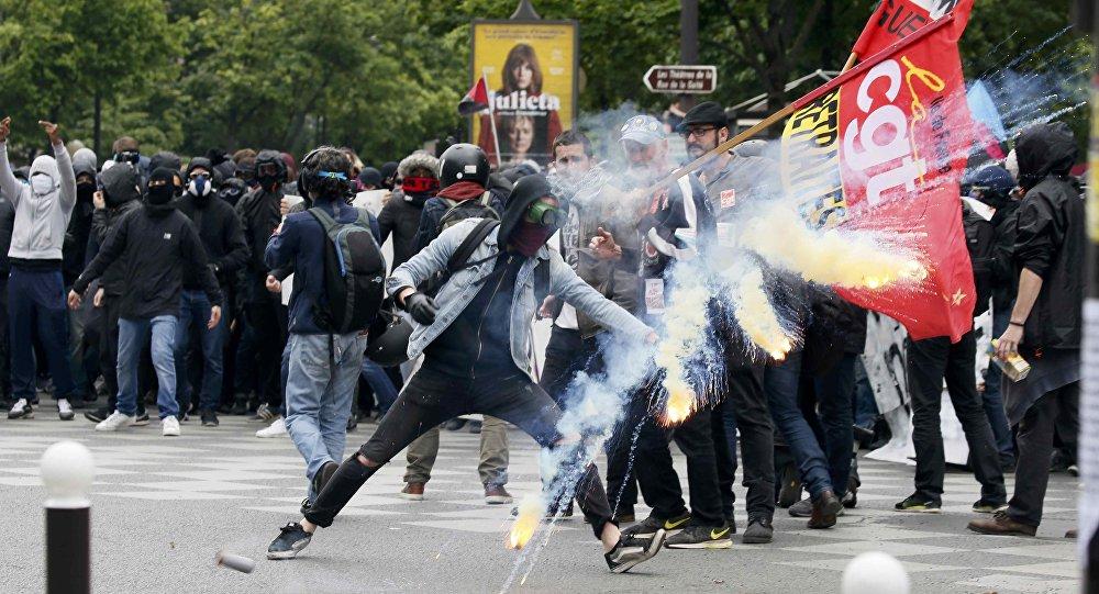 Proteste in Francia