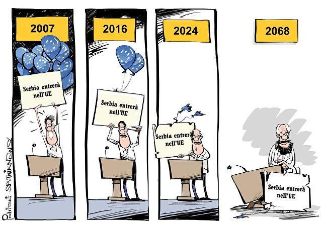 Serbia entrerà nell UE