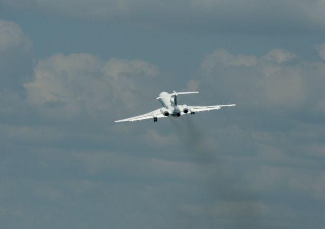 Tu-154, aereo russo usato nell'ambito del trattato Cieli Aperti