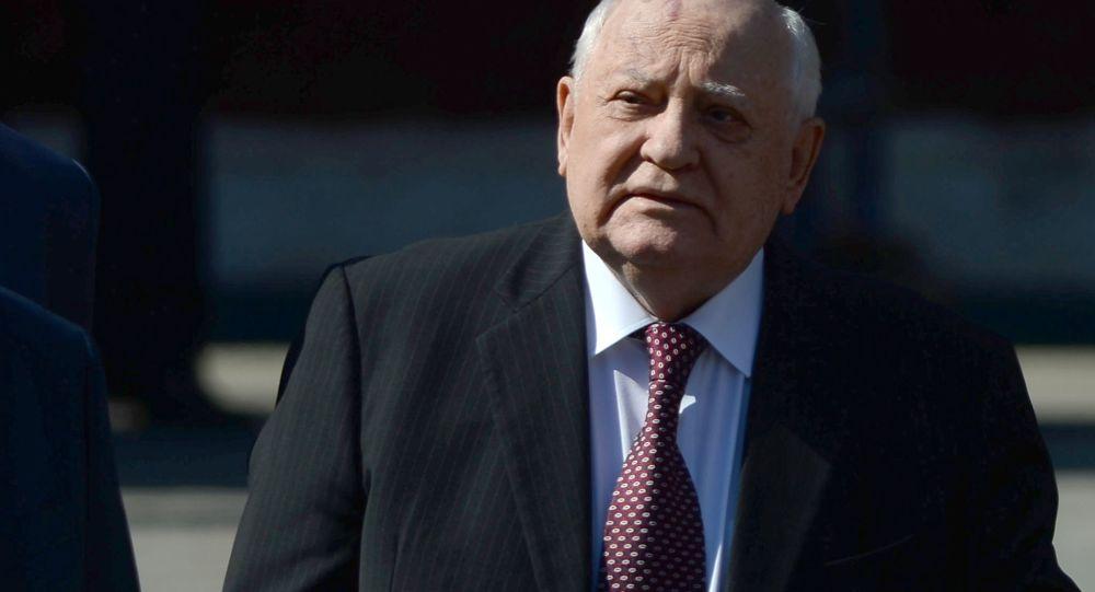 Mikhail Gorbaciov, politico sovietico, l'ultimo presidente dell'URSS