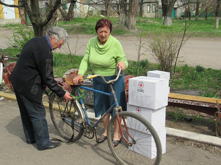 Cittadini di Lugansk
