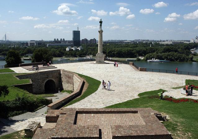Una vista di Belgrado