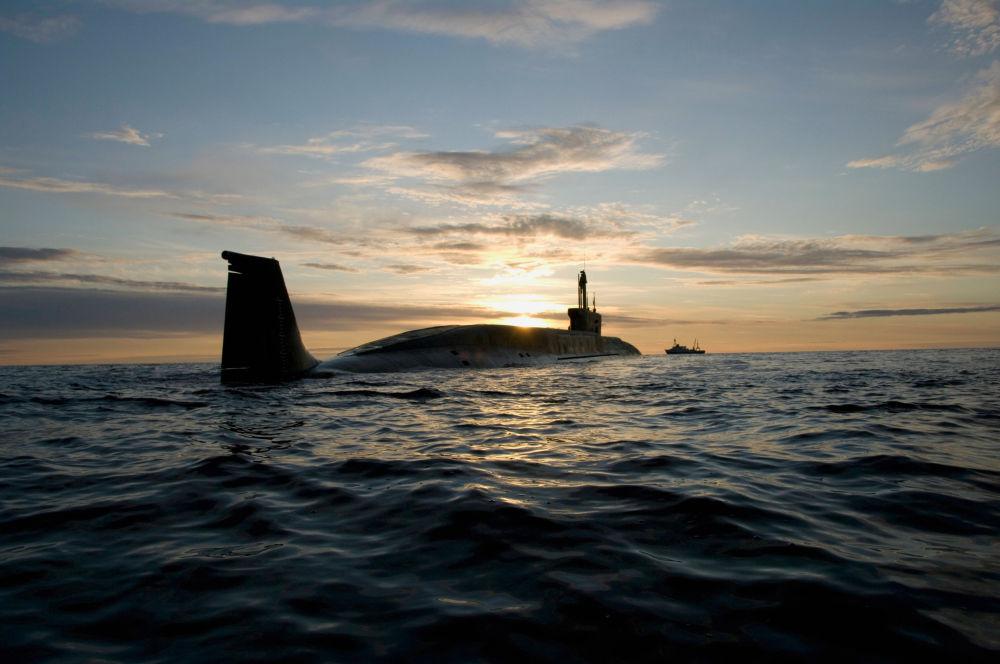 Il sottomarino nucleare Juri Dolgoruky