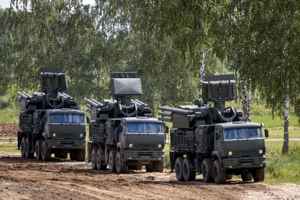 Il sistema di difesa aerea Pantsir-S1