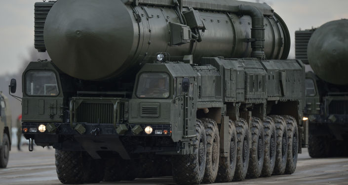 Il missile ballistico intercontinentale RS-24 Yars