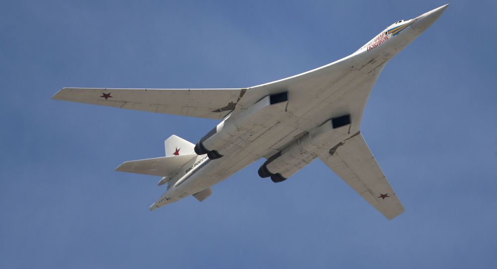 Il bombardiere strategico supersonico Tupolev Tu-160