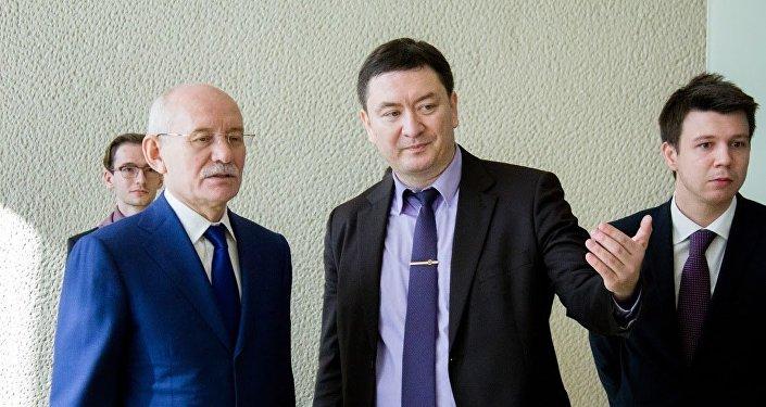 Rustem Khamitov e Konstantin Krokhin