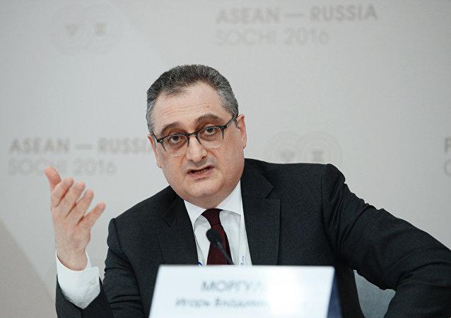 Viceministro degli Esteri russo Igor Morgulov