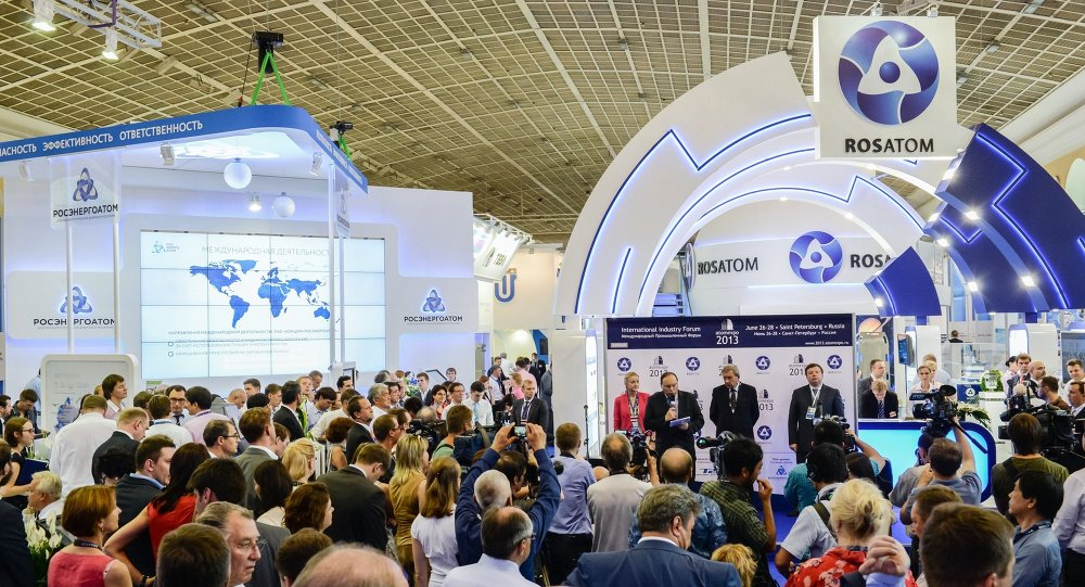 Rosatom al forum Atomexpo