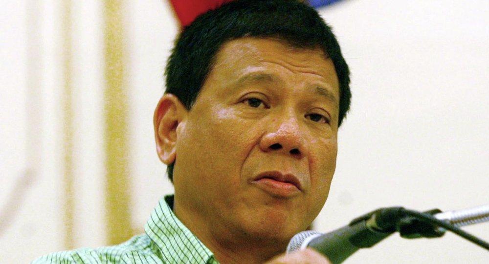 Il presidente filippino Rodrigo Duterte