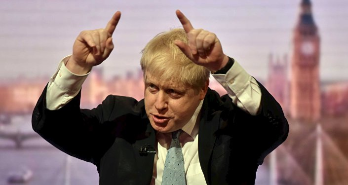 Ex sindaco di Londra Boris Johnson