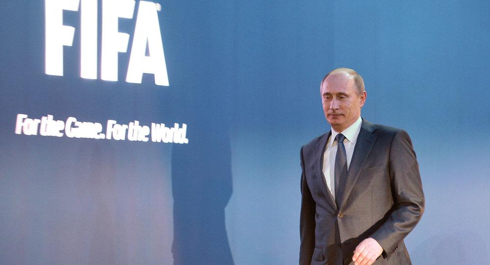Vladimir Putin, Mondiali Calcio Russia 2018