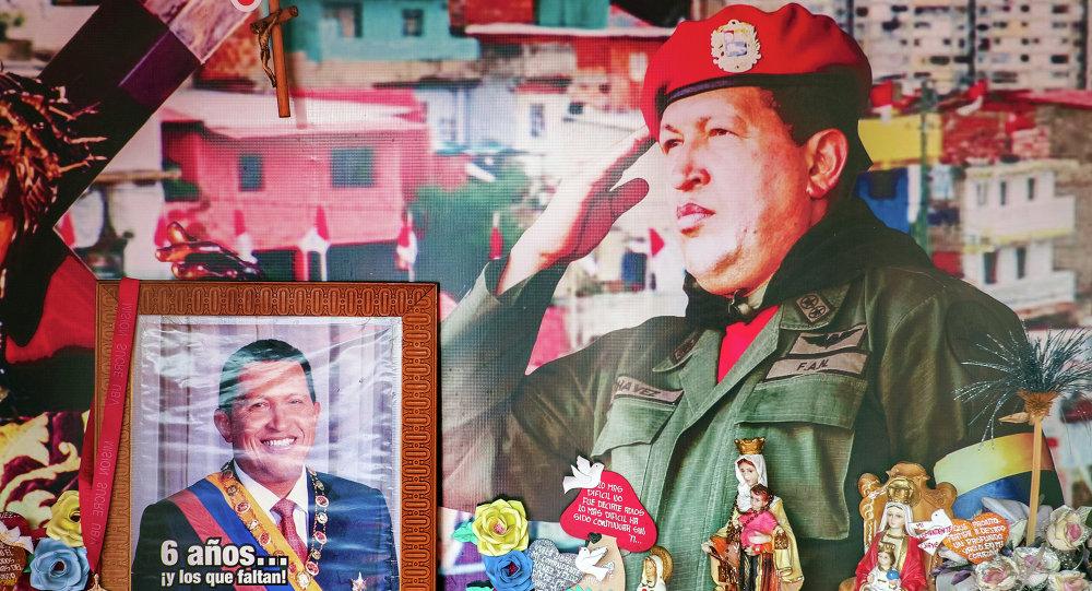 Il ritratto di Hugo Chavez
