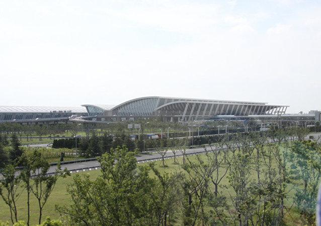 Terminal dell'aeroporto internazionale di Shanghai Pudong