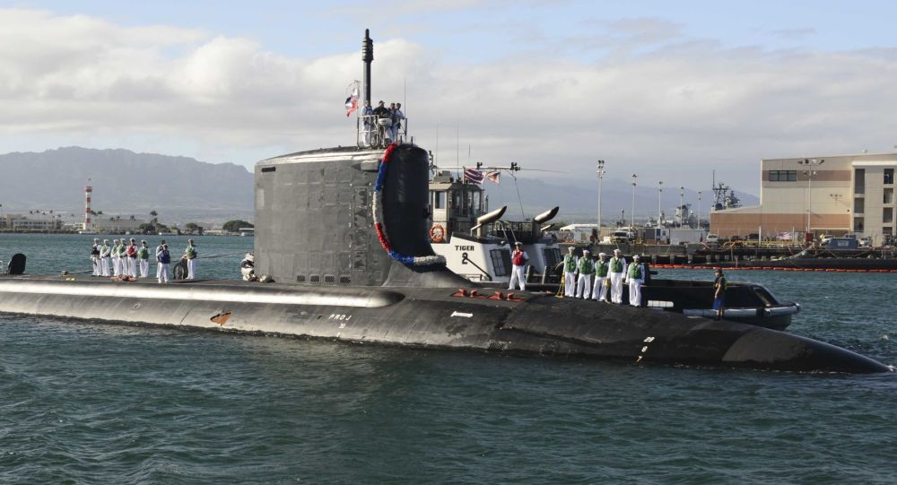 Marina usa entra in servizio sottomarino nucleare uss for Sottomarino italia
