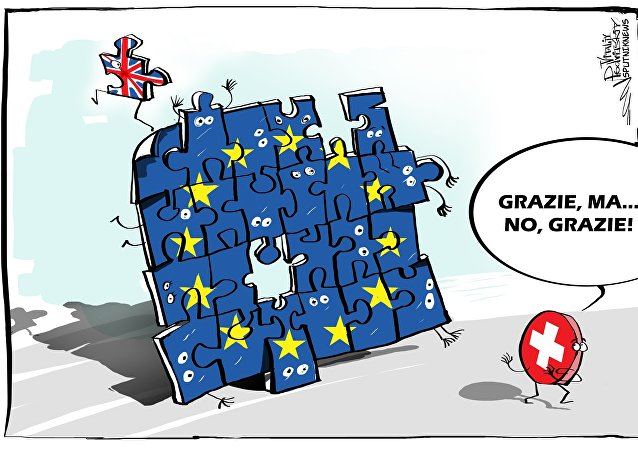 Svizzera non vuole entrare nell'UE