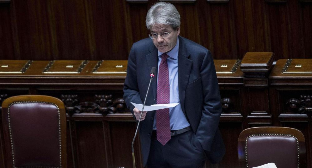Il Ministro degli Esteri Paolo Gentiloni